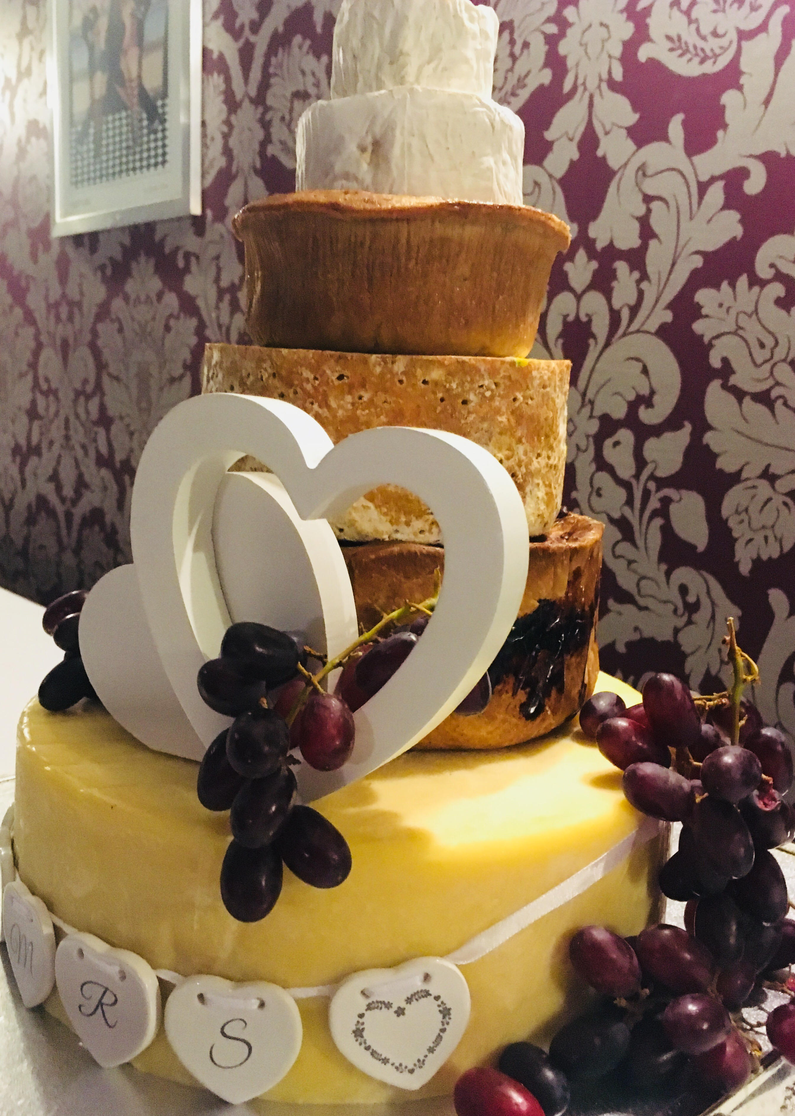 We Chose The Pork Pie And Cheese Celebration Cake 165 Which Combined 4 Cheeses 2 Pies Placing Order Was Simple Service Throughout Great