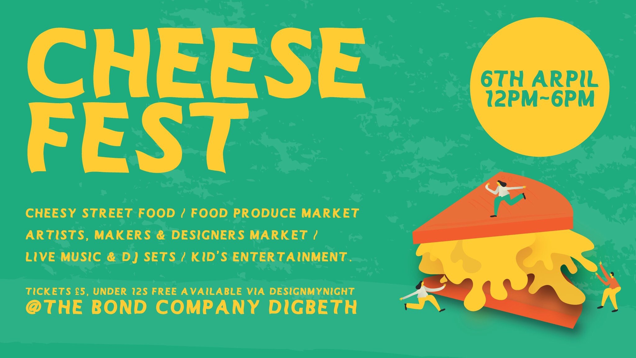 Cheese fest Digbeth